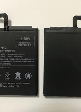 Аккумулятор Батарея АКБ XIAOMI Redmi 4 BN42