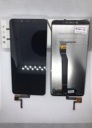 Екран Дисплей Модуль Тачскрин Xiaomi Redmi 6 6A