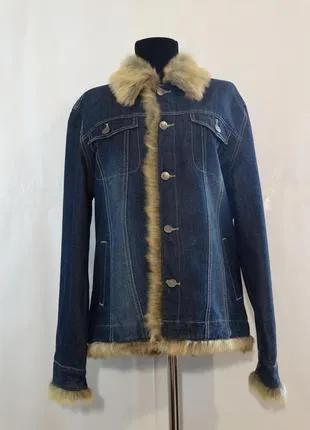 Джинсовая мужская куртка cecil