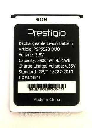 Prestigio PSP5520 Muze B5 Акумулятор Батарея