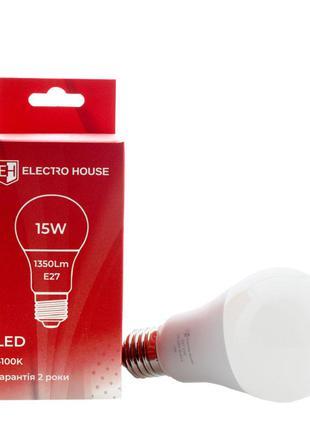 LED лампа А65 E27 15 Вт