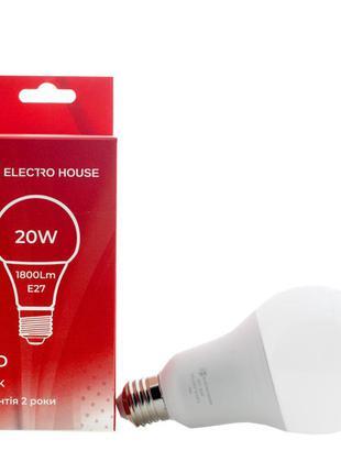 LED лампа A70 E27 20 Вт