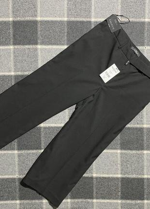 Женские черные укороченные  брюки кюлоты next