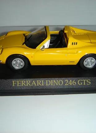 Продам машинку металлическую FERRARI DINO 246 GTS. 1:43