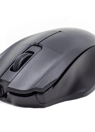 Мышь компьютерная Apedra M4 проводная Black (3221-9645)