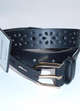 Ремень женский с перфорацией эко кожа бренд accessoires c&a ге...