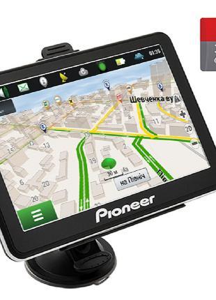 Автомобильный GPS-навигатор Pioneer Pi7215 TRUCK + КАРТА ПАМЯТ...