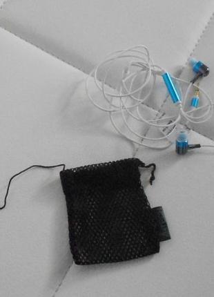 Наушники затычки (вкладыши) A4Tech белые Металл