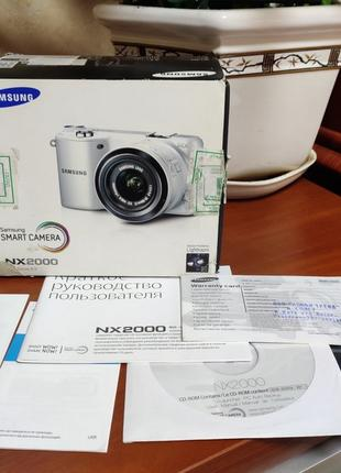 Samsung NX2000, 20,3 М, NFC, Full HD, WIFI