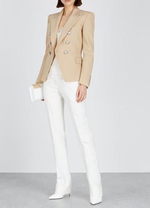 Брендовый коричневый пиджак жакет блейзер с карманами together...