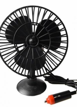 Автомобильный вентилятор на присоске MINI LUFTER MJ40A Черный ...