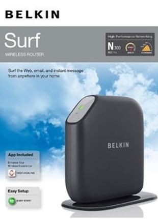 Маршрутизатор Belkin F7D2301 Surf Wireless N