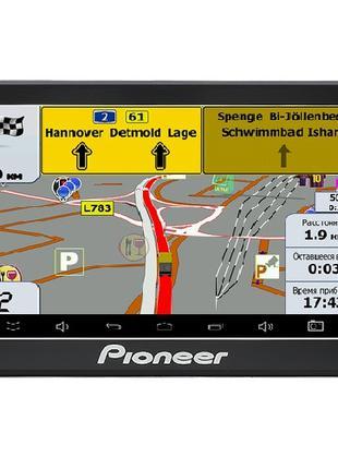 Автомобильный GPS-навигатор Pioneer Pi-718 Truck с картой Евро...
