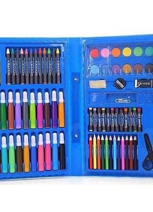 Набор для творчества Coloring Art Set 86 предметов (Blue) | На...