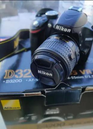 Nikon D3200 18-55mm VR II Kit+Сумка+Sdcard16GB