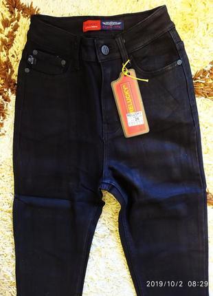 Джегинсы и джинсы  утепленные высокая посадка американка