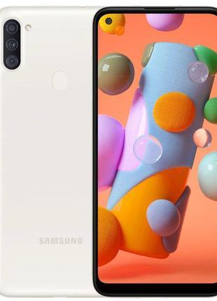 Смартфон Samsung Galaxy A11 SM-A115 2/32GB Dual Sim White (SM-...