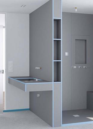 Влаго-, термозащитная изоляционная панель WEDI 2500/600/40 мм