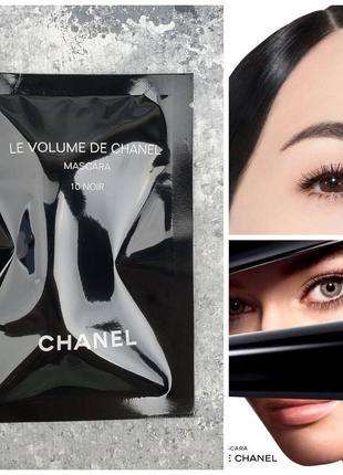 Тушь для ресниц chanel le volume de chanel mascara оттенок 10 ...