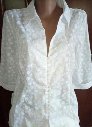 Изумительно красивая нежная рубашка блузка