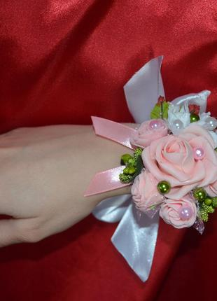 Бутоньерка свадебная
