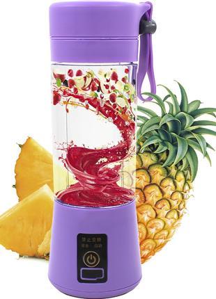 Фитнес блендер-шейкер Daiweina DWN-3S Smart Juice Purple порта...