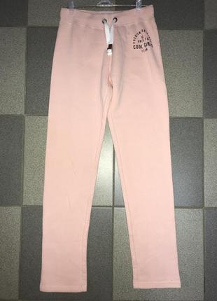 Утеплённые спортивные штаны для девочки-подростка
