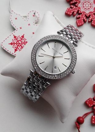 Часы, серебристые, стразы, красивые, модные, тренд, новинка