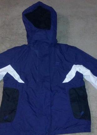 Зимняя  фиолетовая термо курточка из канады