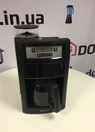 Кофемашина капельная Klarstein Aromatica II с кофемолкой