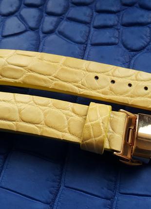 Ремешок для часов из кожи крокодила EDOX CONSTANT TISSOT BALMAIN