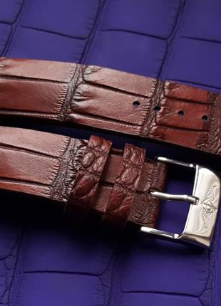 Ремешок для часов из кожи крокодила PIAGET BUCHERER RICHARD HEUER