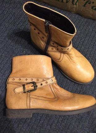 Hush puppies кожаные ботинки