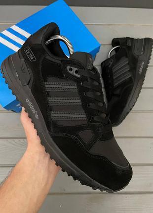 Кроссовки мужские adidas zx 750 black full