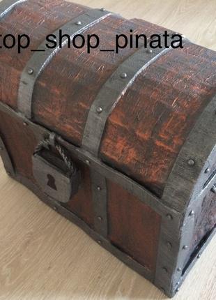 Пиньята пиратский сундук