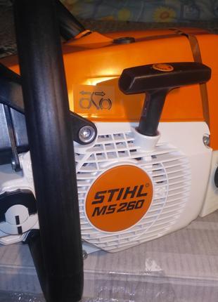 Бензопила stihl нова- (штіль ) ms 260 +( гарантія) original