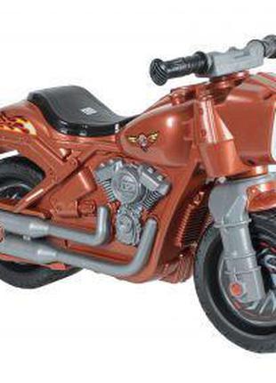 Мотоцикл 2-х колесный коричневый