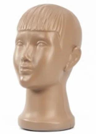 """Манекен """"Голова детская"""", 48 см телесная"""