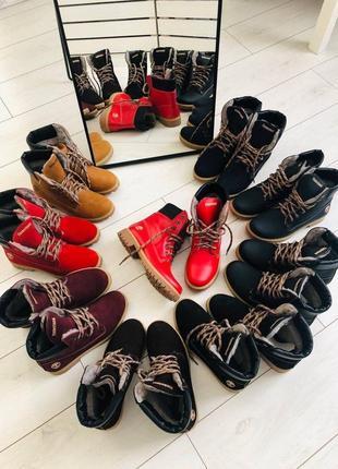 Lux обувь! натуральные кожаные зимние женские ботинки сапоги т...