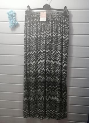 Летняя юбка в пол blue motion