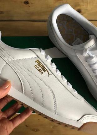 Кроссовки puma roma classic gum sneakers оригинал