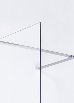 Держатель стекла (F) с креплениями, 1000мм