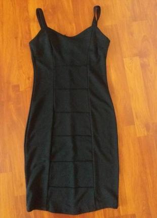 Маленькое черное платье сарафан