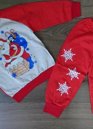 Пижама дед мороз