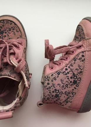 Кожаные демисезонные ботиночки clarks для первых шагов размер ...