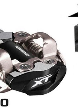 Контактные педали Shimano XT M8000 (Black) 343g.