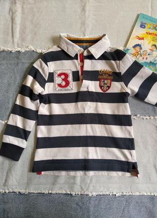 Футболка реглан нарядний рубашка свитшот поло мальчик 2-4 года...