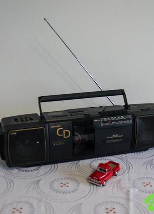 Магнитофон SHARP QT-CD20H(BK)