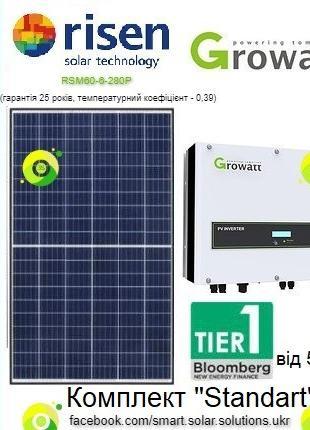 """Мережева СЕС - 10 кВт для Зеленого тарифу """"Під ключ"""" (STANDART)"""