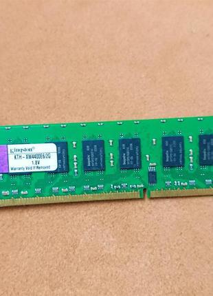 Оперативная память DDR2, Kingston 2Gb